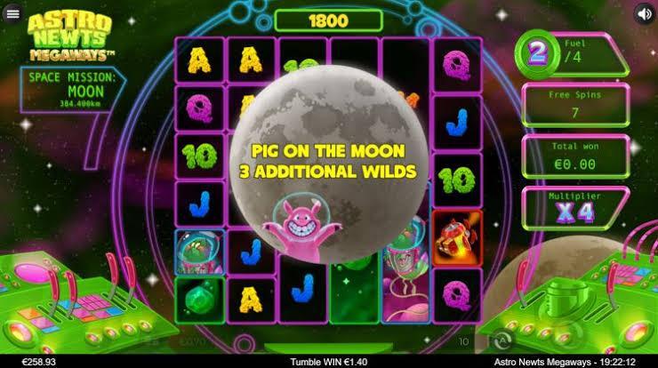 Astro Newts Megaways-เกม