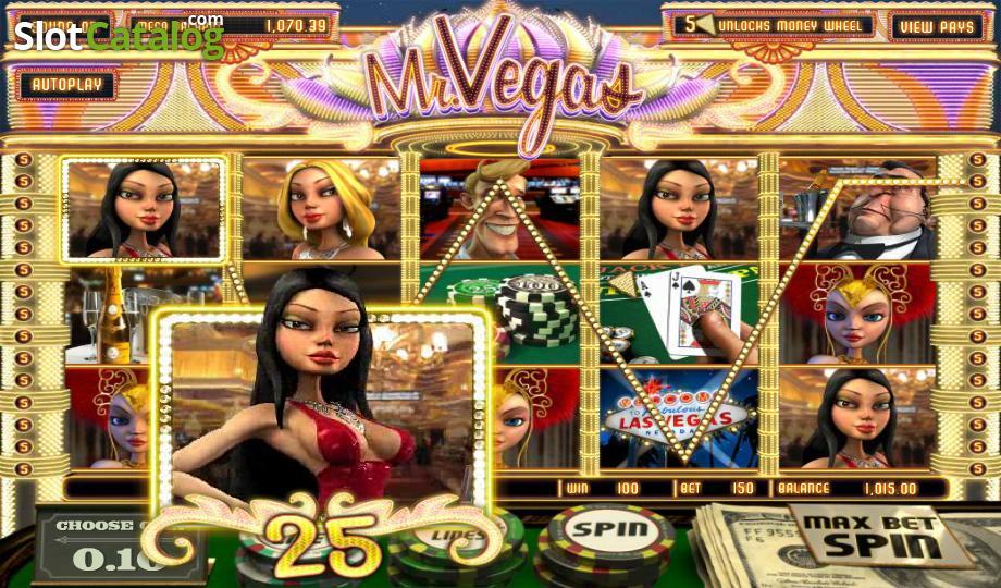 Mr Vegas-พนัน